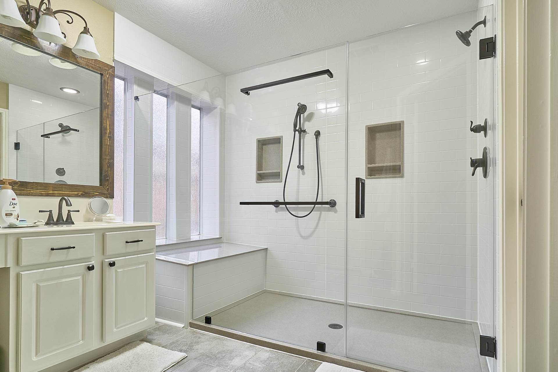 Superior Large Walk In Shower Remodel