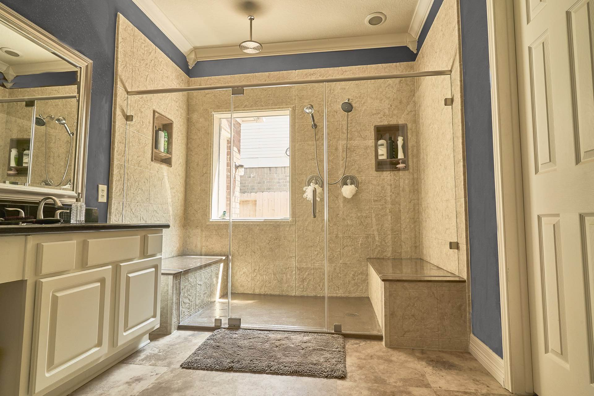 shower remodel by the Bath Kitchen Pros